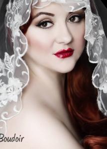 50s pinup wedding hair and makeup