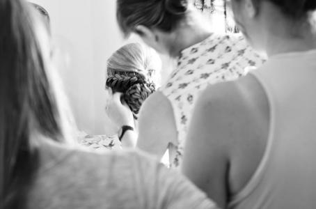 Kate Middleton braided bun inspired bridal hairstyle