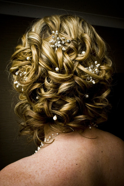 Intricate wedding hair