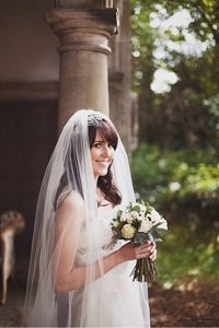Understated wedding hair and makeup