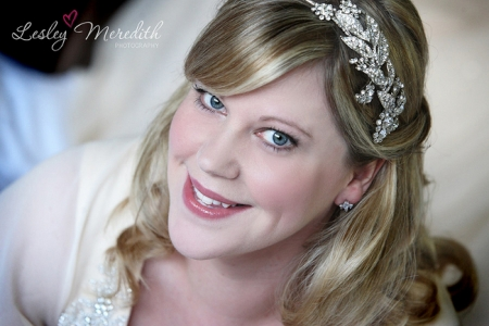 Classic beauty wedding hair and makeup