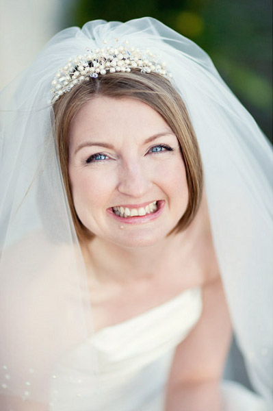 Natural barely there bridal makeup