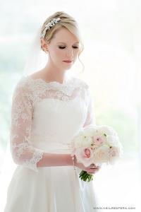 Soft smokey eye bridal makeup