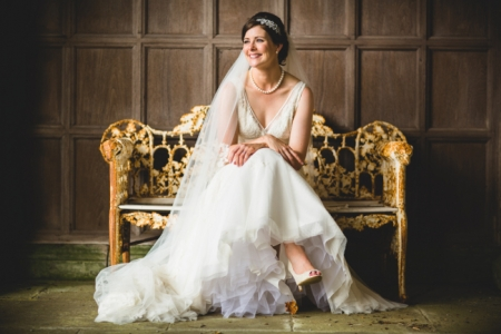 Thornton Manor wedding makeup and hair