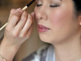 Thai wedding makeup