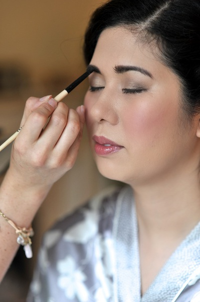 Thai wedding makeup