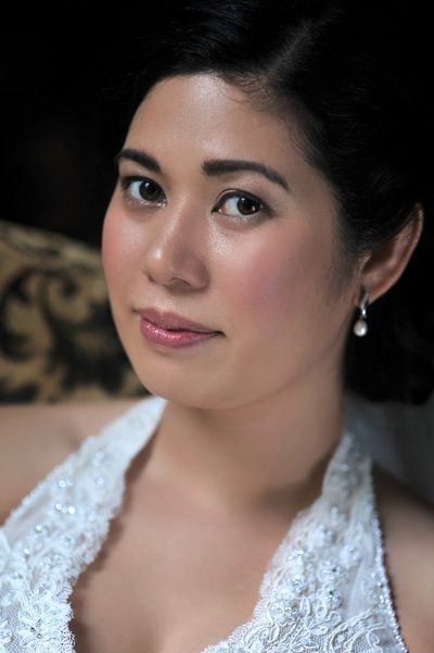 Dewy skin Thai bridal makeup
