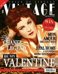 Vintage hair & make-up Michelle Sisson Vintage Life Feb 14