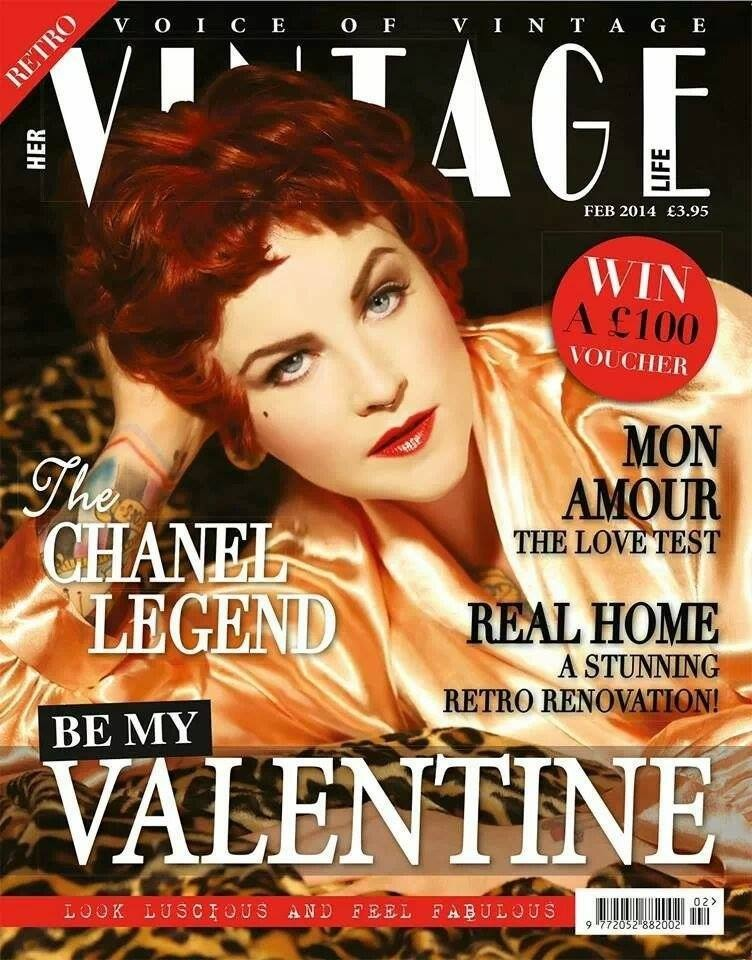 Vintage hair & make-up Michelle Sisson Vintage Life Feb 14