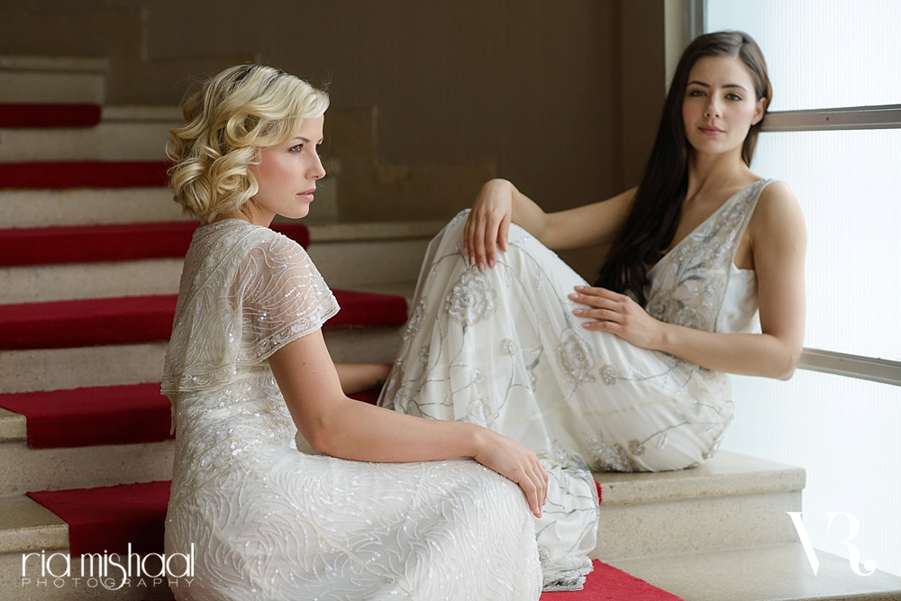 Vicky Rowe 2014 bridal collection campaign