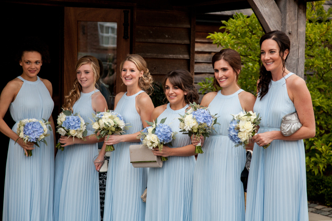 Bridesmaid low side hairstyles