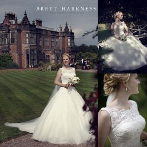 Arley Hall wedding hair and makeup