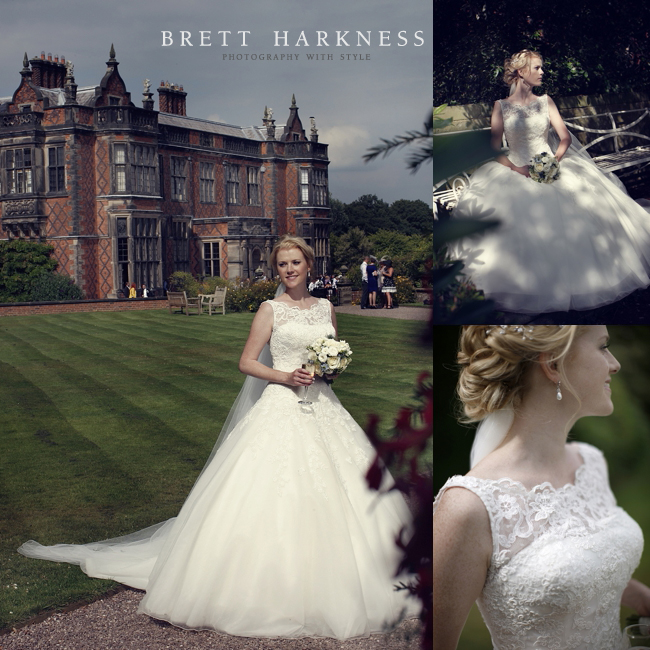 Arley Hall wedding hair and makeup