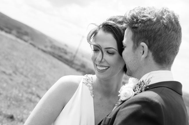 White Hart Lydgate wedding hair and makeup