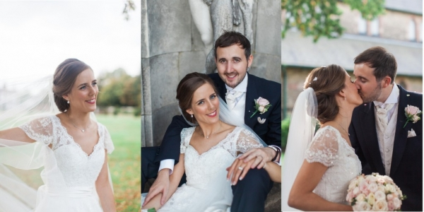 Knowsley Hall wedding hair and makeup