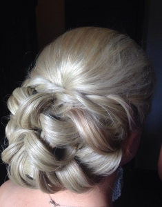 Wedding hairstyle by Michelle Sisson