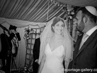 Jewish wedding hair and makeup