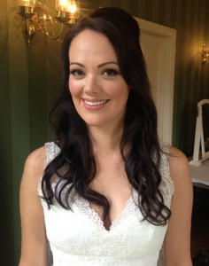 Michelle Keegan inspired bridal hair and makeup