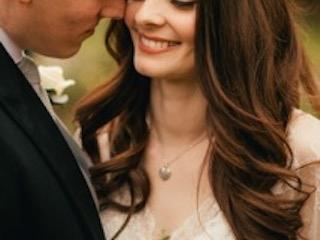 English Rose soft bridal hair and makeup
