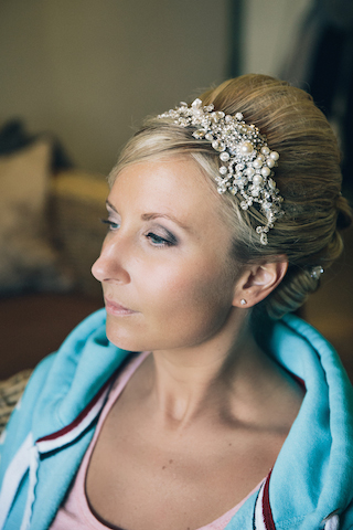 Modern bridal makeup